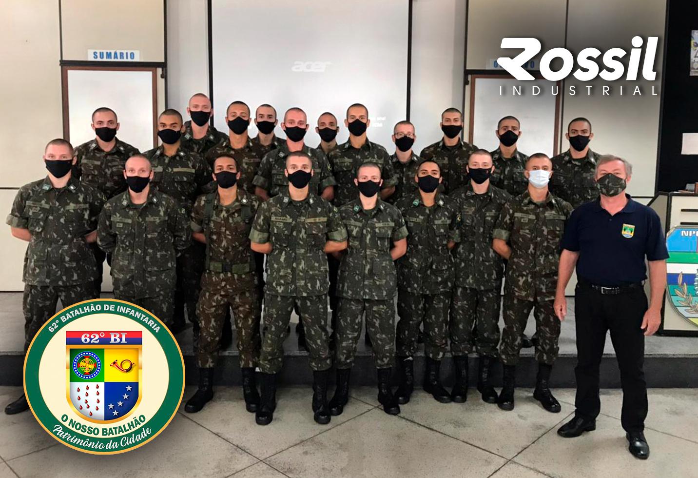 Diretor da Rossil participa do Ciclo de Palestras do 62° Batalhão de Infantaria